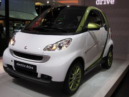 En direct du Salon de Francfort : la Smart Fortwo electric drive