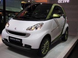 En direct du Salon de Francfort : la Smart Fortwo electric drive