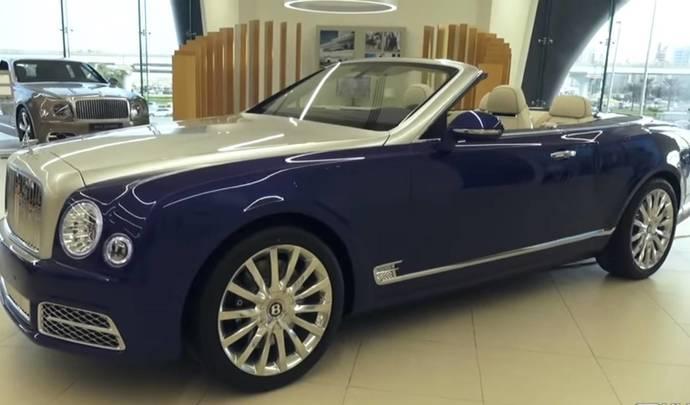 Bentley dévoile son premier grand cabriolet