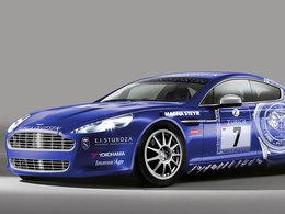 Aston Martin aux 24h du Nürburgring ... avec la Rapide !