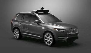 Uber va acheter à Volvo des milliers de voitures autonomes