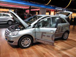 En direct du Salon de Francfort : la Mercedes-Benz classe B F-CELL à l'hydrogène