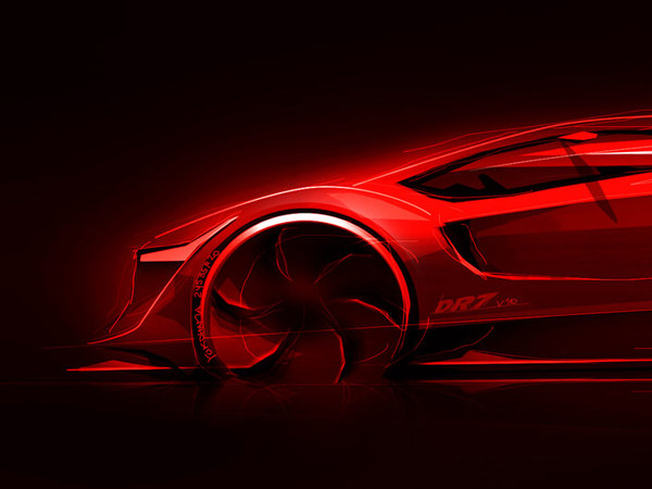 Design : Amoritz GT DR7, brésilienne à grosses gamelles