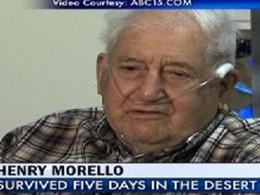 Incroyable : à 84 ans, il survit cinq jours dans le désert d'Arizona en buvant le liquide lave-glace de sa voiture