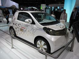 En direct du Salon de Francfort : le Concept électrique Toyota FT-EV