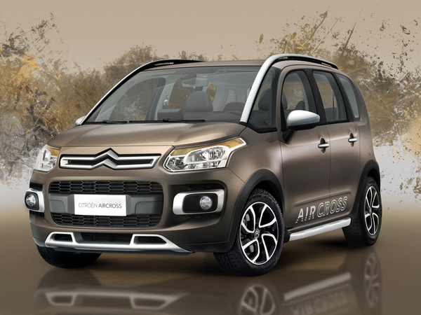 Nouveau Citroën C3 Aircross : officiel
