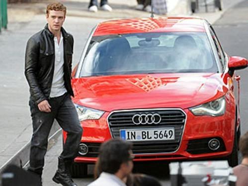 L'Audi A1 se paye Justin Timberlake