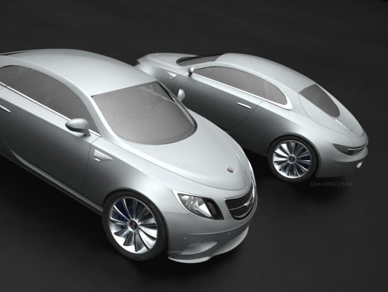 [Design] Saab 92010 Sixten Concept par Edouard Gray