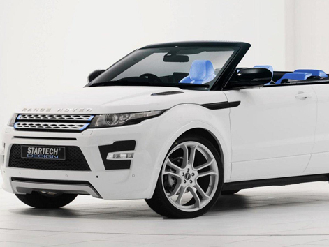 le range rover evoque cabriolet dans le viseur de startech. Black Bedroom Furniture Sets. Home Design Ideas