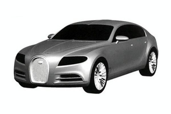 Bugatti dépose le design de la 16C Galibier