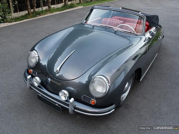 Photos du jour : 356 A T1 1600 cabriolet - 1956