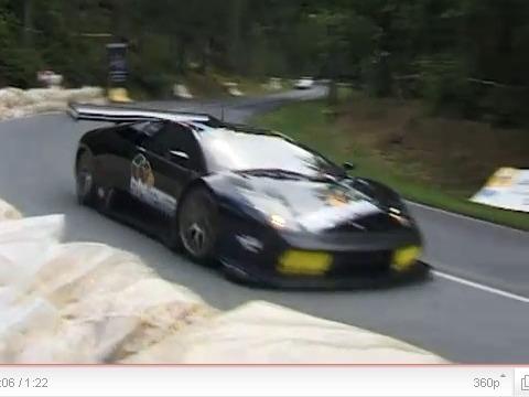 Une Lamborghini Murcielago R-SV libérée dans la nature