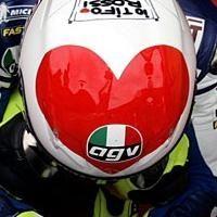 Moto GP: Rossi, un coeur gros comme ça !