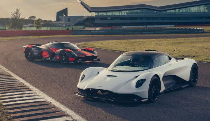Aston Martin avec des moteurs hybrides et électriques Mercedes