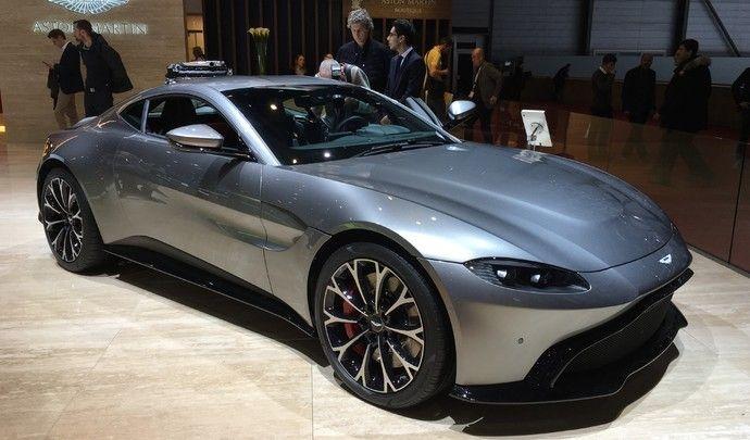 Aston Martin Vantage : magnétisme - Vidéo en direct du salon de Genève 2018