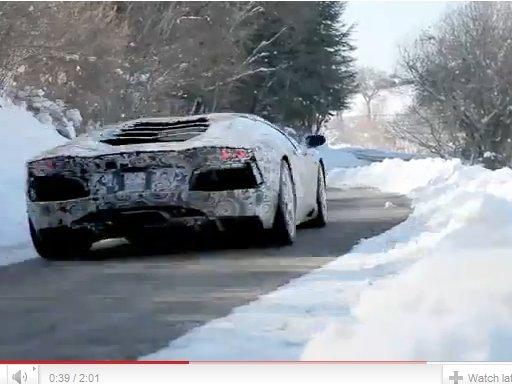 [vidéo] embarquez pour une balade en Lamborghini Aventador !