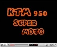 Vidéo moto : La KTM 950 Supermoto sur son terrain de jeu