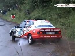 Un peu de rallye polonais en vidéo...
