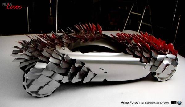 BMW Lovos, le concept car écologique et hérissé