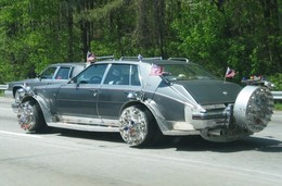 Saucisse du vendredi : Cadillac Seville Gangsta Nigger