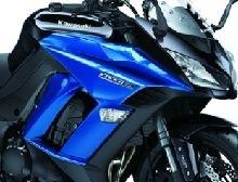 Nouveauté - Kawasaki: plus de sécurité pour la Z1000SX en 2016