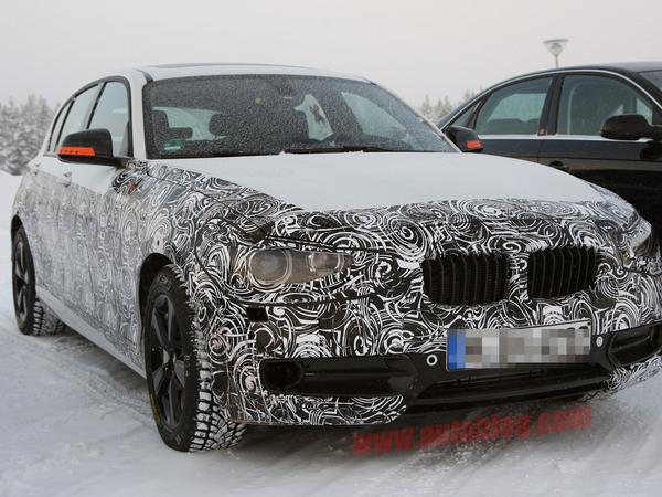 Spyshot : la prochaine BMW Serie 1 commence à se découvrir