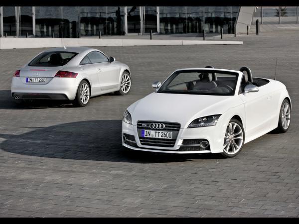 Restyling Audi TT : 211 ch et 6.6l/100km pour le 2.0l TFSi