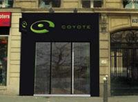 Le Coyote store vient d'ouvrir à côté des Champs Elysées