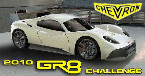 La Chevron GR8 prend forme(s)