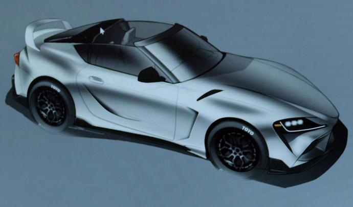 La Toyota GR Supra Sport Top Concept digne héritière de la MKIV Targa ?