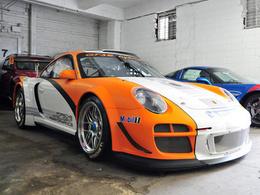 Mais qu'est-ce qu'elle fait là ? La Porsche 911 GT3-R Hybrid dans un parking de New-York