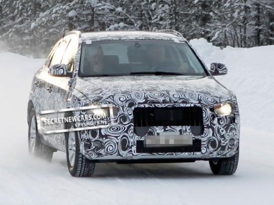 Spyshot : l'Audi Q3 est de sortie