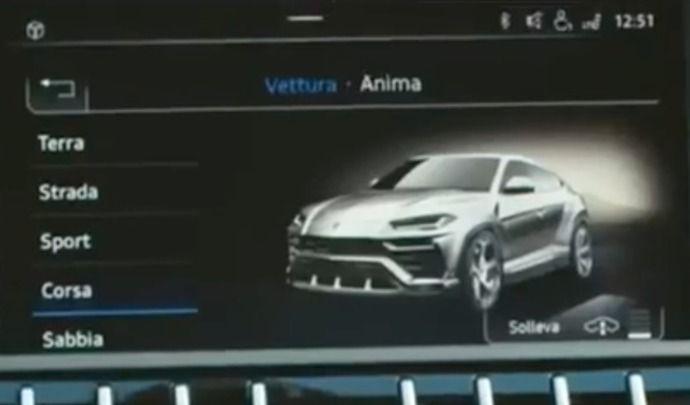 Surprise : le Lamborghini Urus se montre déjà !
