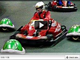 [vidéo] Mario Kart dans la vraie vie et sans Remi Gaillard