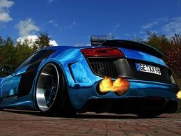 XXX Performance s'énerve sur l'Audi R8 V10