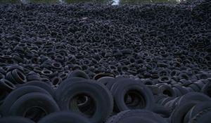 55000 tonnes de vieux pneus détruits en 9 ans