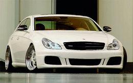 Mercedes CLS 55 AMG wheelsandmore, des chevaux, du châssis, du look