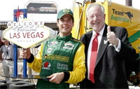 Champcar Las Vegas: Bourdais dernier sur la grille