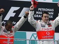 GP de Malaisie : réactions à chaud du podium