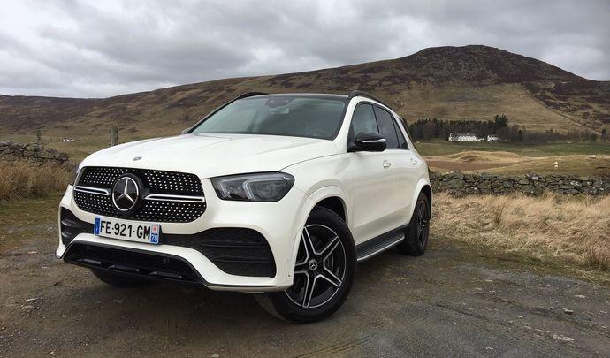 Mercedes GLE 2019 : les premières images de l'essai en direct + Premières impressions