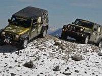 Deux Jeep à plus de 6500 mètres d'altitude !