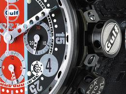 BRM et Gulf, partenaires pour une série limitée de 100 montres...