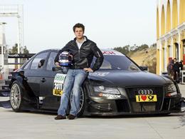 Adrien Tambay en DTM sur une 8eme Audi