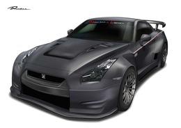 Original Runduce prépare une Nissan GT-R au look XXL