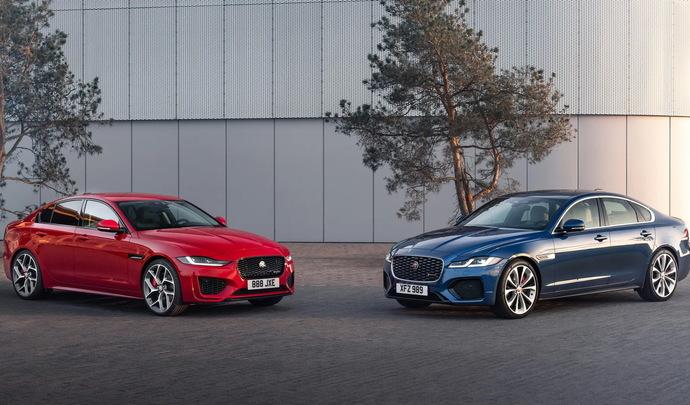 L'avenir des Jaguar XE et XF pas si incertain