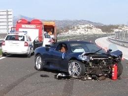 Crash sur l'autoroute en Croatie : le maire de Split perd sa Ferrari F430