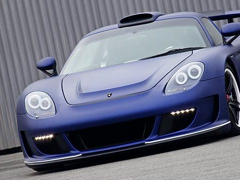 Gemballa Mirage GT Matt Edition Blue