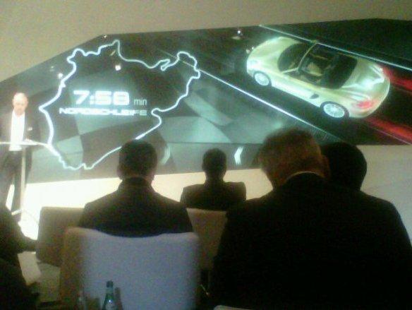 7'58'' sur le Nürburgring pour le nouveau Porsche Boxster