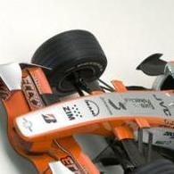 Formule 1: Spyker vend l'espace de sa F.1 aux enchères sur le net