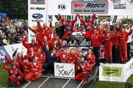 WRC Nlle-Zélande final : la bérézina Ford offre un doublé aux Rouges